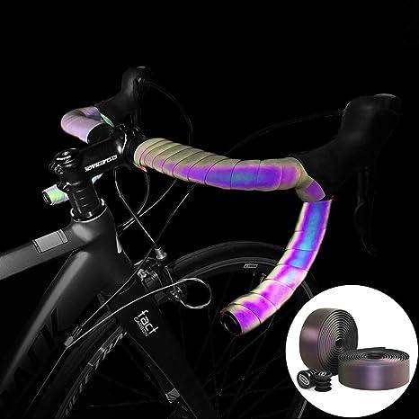 Fansport Cinta De Manillar De Bicicleta Luz Reflectante De ...