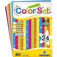 Bloco Para Educacao Artistica Romitec, Multicor, pacote de 24