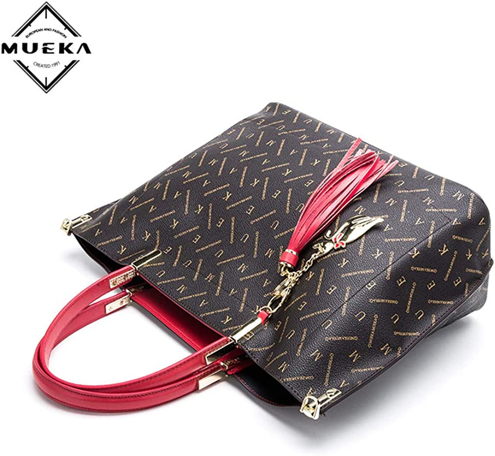 Messenger tote bag for women MUEKA totes purse black handbags for women