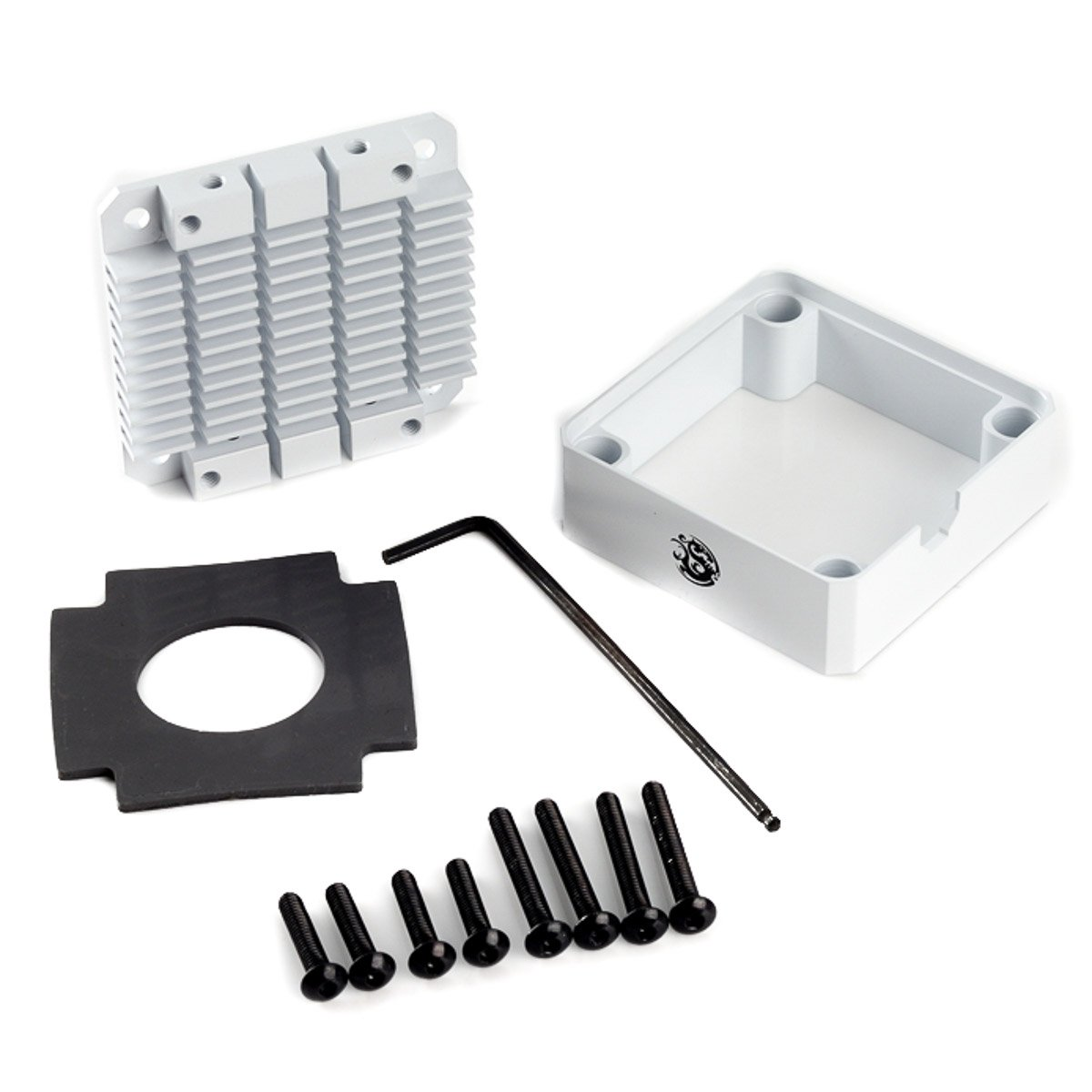 Bits Power Pump cooler white for DDC/MCP 355 (BP-DDCPC-WH) by Bits Power (Image #1)