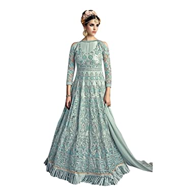 Kapstil Muslim Traditionelles Kleid Damen Kleid Anarkali Party Kleid ...