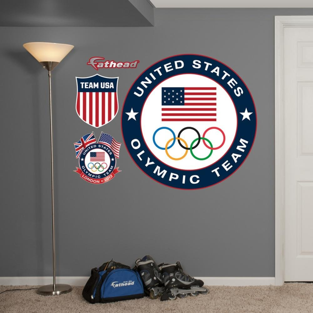 Team USA Logo Wall Decal Sticker 38 x 38in by FATHEAD