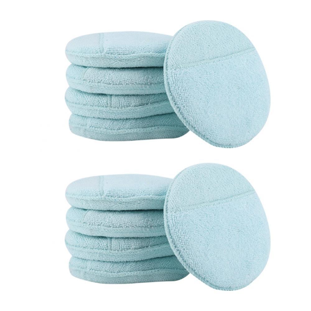 Azul Claro Fdit 6inch 10pcs Almohadillas de Pulido de Esponja de Espuma de Cera Coche Dealmohadillas Suaves Socialme-EU