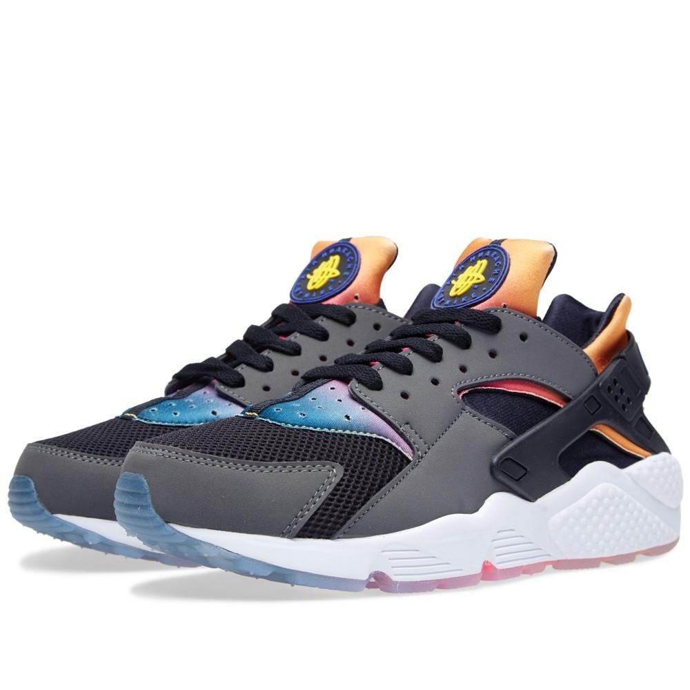 44c3c800d165 Nike Air Huarache Run SD (Black PRSN VLT-Tr Yllw-Pnk Pw) (9)  Amazon.ca   Shoes   Handbags
