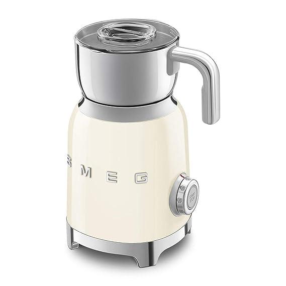 Smeg MFF01CREU - Espumador de leche, color crema: Amazon.es ...
