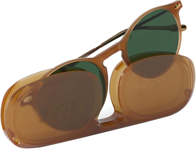 Nooz Gafas de sol polarizadas para hombre y mujer - Protección de categoría 3 - con estuche compacto - Colección CRUZ