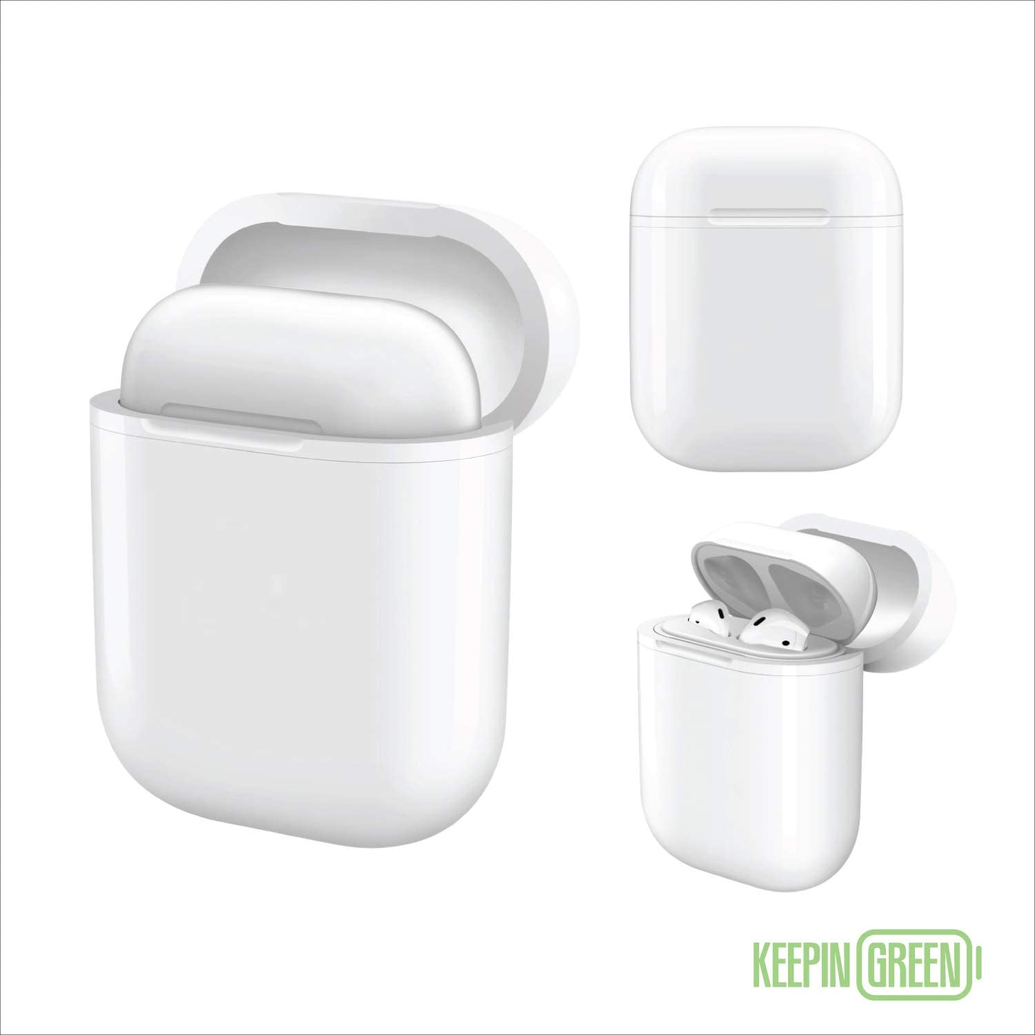 Amazon Com Keepingreen Airpods Wireless Charging Case For Apple