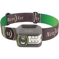 Nite Ize Radiant 250 Linterna Frontal Recargable, Varios Modos de luz LED roja y Blanca de 250 lúmenes
