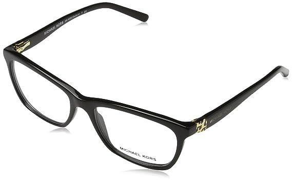 cc529b9cdec6 Michael Kors SADIE V MK4026 Eyeglass Frames 3005-53 - Black MK4026-3005-