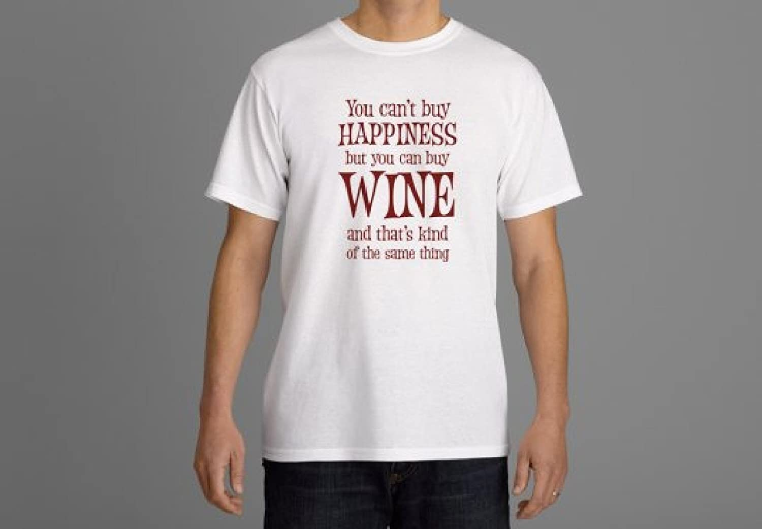 Happiness is Wine T-shirt