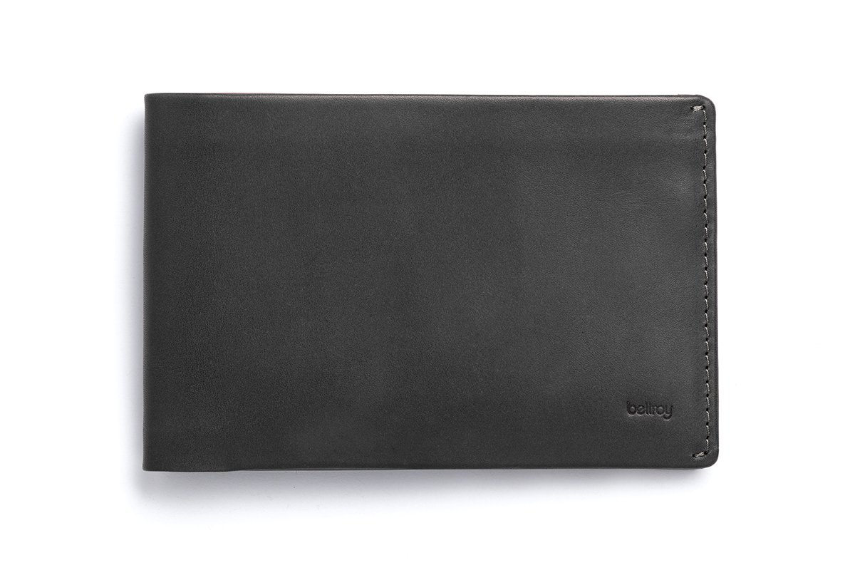 Bellroy レザ Travel ウォレット B0167PIH38 Charcoal (Old) Charcoal (Old)