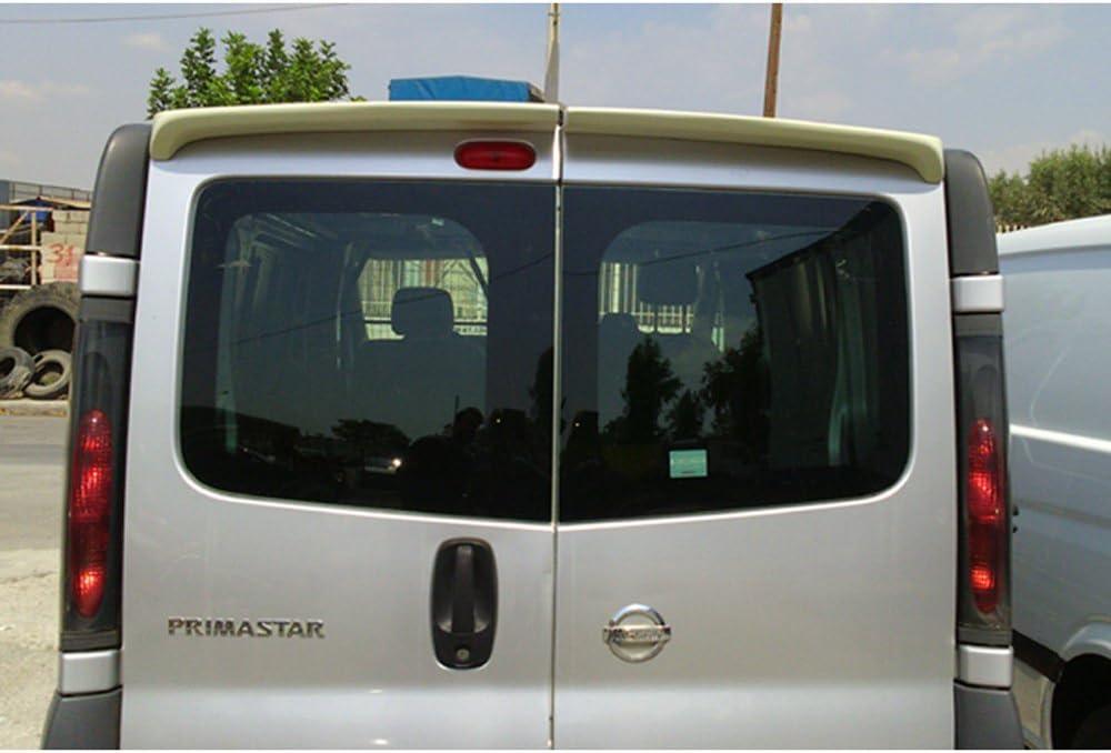 Modelle mit Heckt/üren PU Dachspoiler Primastar//Vivaro//Trafic 2001-2014