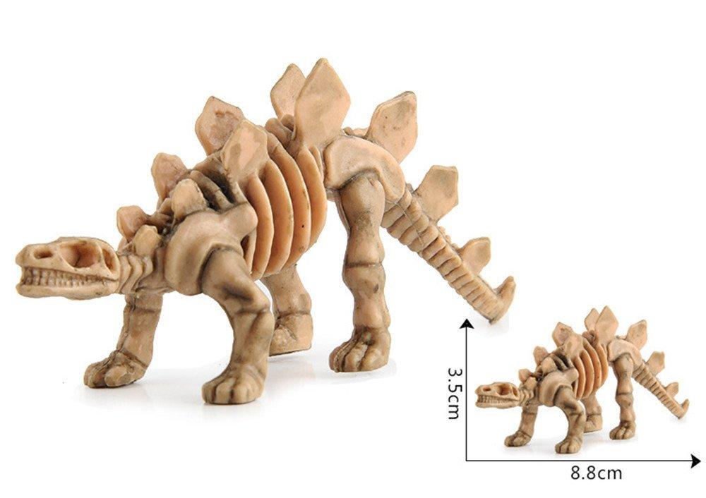 Wffo Educational Simulated Dinosaur Model Kids Children Toy Dinosaur Gift A