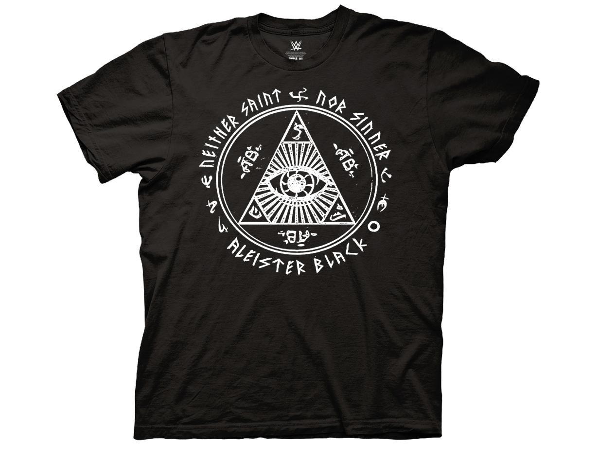 Ripple Junction WWE Aleister Black Neither Sinner Adult T-Shirt XL Black