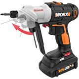 WORX WX176L 20V Switchdriver 2-in-1 Cordless Drill and Driver with Rotating Dual Chucks and 2-Speed Motor with Precise…