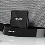 Wireless Bluetooth Music Receiver Adapter for Bose SoundDock,JBL,Philips XT Dock Speaker with 8 Pin Port-Provide Extra Long Wireless Range (8 pin Dock)