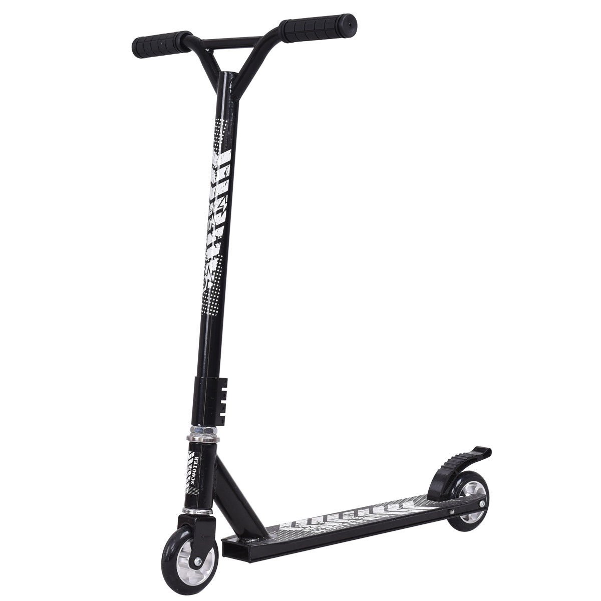 Lightweight Aluminum Freestyle Kick Scooter 2 Wheels Adults Teenagers