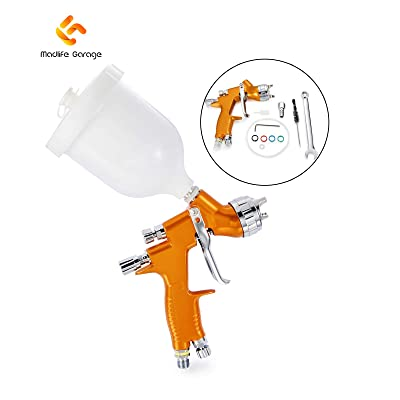 G Madlife Garage 1.3mm Nozzle LVMP Tool Pistol Spray Gun For Car Auto Repair Tool Painting kit: Automotive