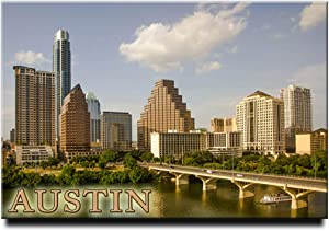 Austin Fridge Magnet Texas Travel Souvenir