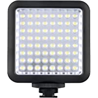 Godox LED64 Video Light 64 LED-Leuchten für DSLR Kamera Camcorder Mini DVR als Fill Light für Hochzeit News Interview Makrofotografie