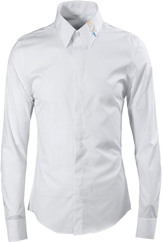 HOSD Camisa de Hombre con Bordado gráfico: Amazon.es: Ropa y ...