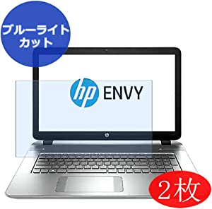 """【2 Pack】 Synvy Anti Blue Light Screen Protector for HP Envy m7-k200 / k211dx 17.3"""" Screen Film Protective Protectors [Not Tempered Glass]"""