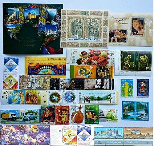 Europa CEPT New Ukraine 1997-2017 COMPLETE Set of Ukrainian stamps Blocks MNH **