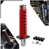 RYANSTAR Gear Shift Knob Sword Shift Knobs Katana Samural Shift Gear Lever Universal Fit for Manual Cars Most Automatic…