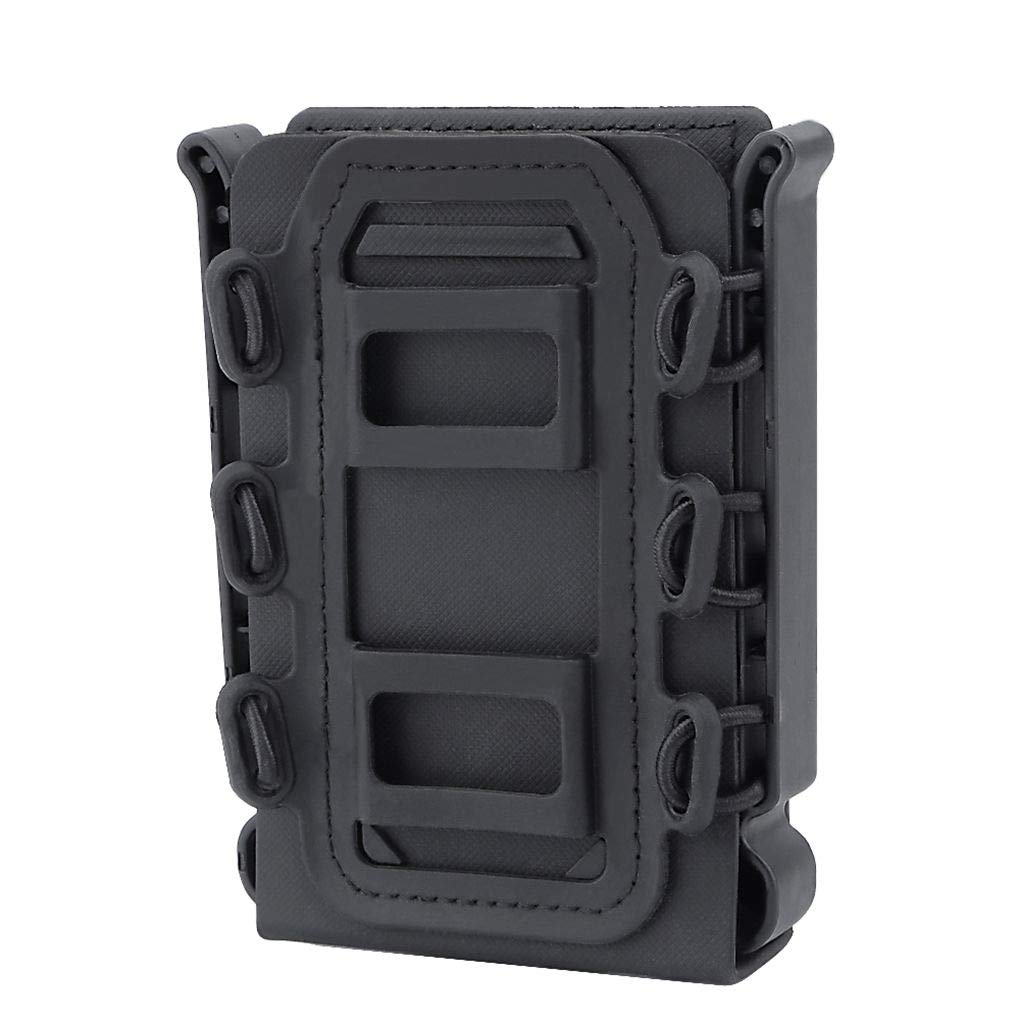 Censhaorme Outdoor 5,56 7,62 Magazine Pouch Rapide Cas Mag Fast Release Nylon Holster Box Remplacement pour Molle Ceinture syst/ème
