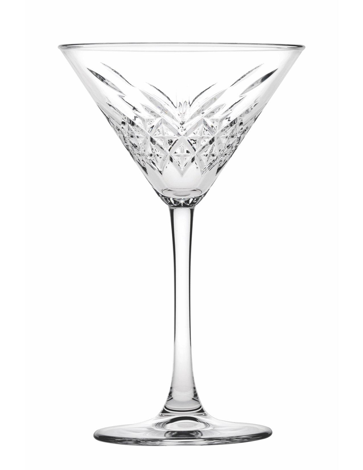 Hospitality Glass Brands 440176-012 Timeless Martini, 7.75 oz. (Pack of 12)