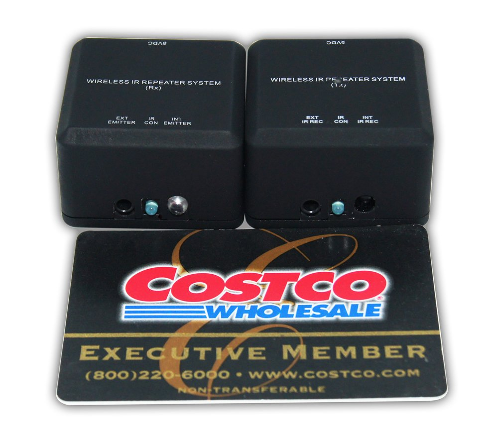 Infrared Resources Wireless 20-60kHz IR Remote Extender Repeater for The Majority of A/V (IR) Devices Including U-Verse,SA/Cisco Explorer,DTV,Bell,Foxtel and Other Set Top Boxes,A/V Receivers etc. by Infrared Resources (Image #5)