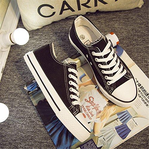 Womens Fashion Fashion Black Sneaker Womens MINIVOG Black Canvas Sneaker MINIVOG Canvas MINIVOG wtOOIRq