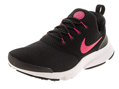 Zapatillas Nike Presto Fly (GS) NegroRosaBlanco Talla