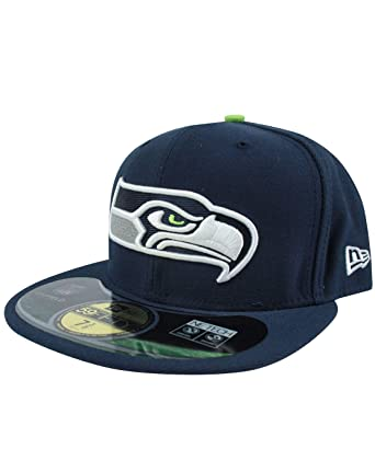 f7406c9b012 Amazon.com  New Era 59Fifty NFL Seattle Seahawks Cap (7 1 2)  Clothing