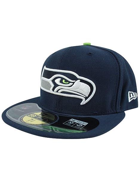 200f9295 New Era 59Fifty NFL Seattle Seahawks Cap (7 1/2) at Amazon Men's ...