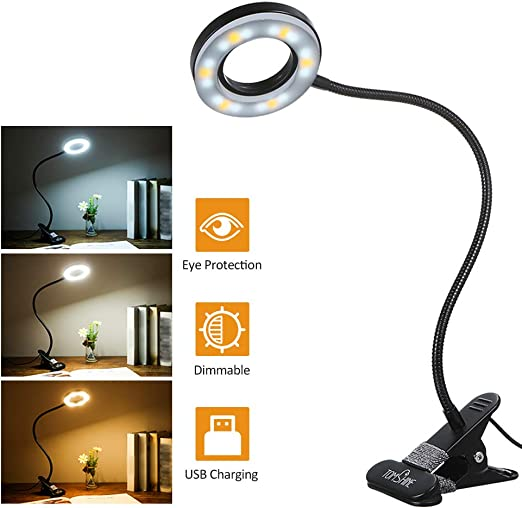 28LEDs reading lamp LED USB Book light Ultra Bright Flexible 4 Colors  FT