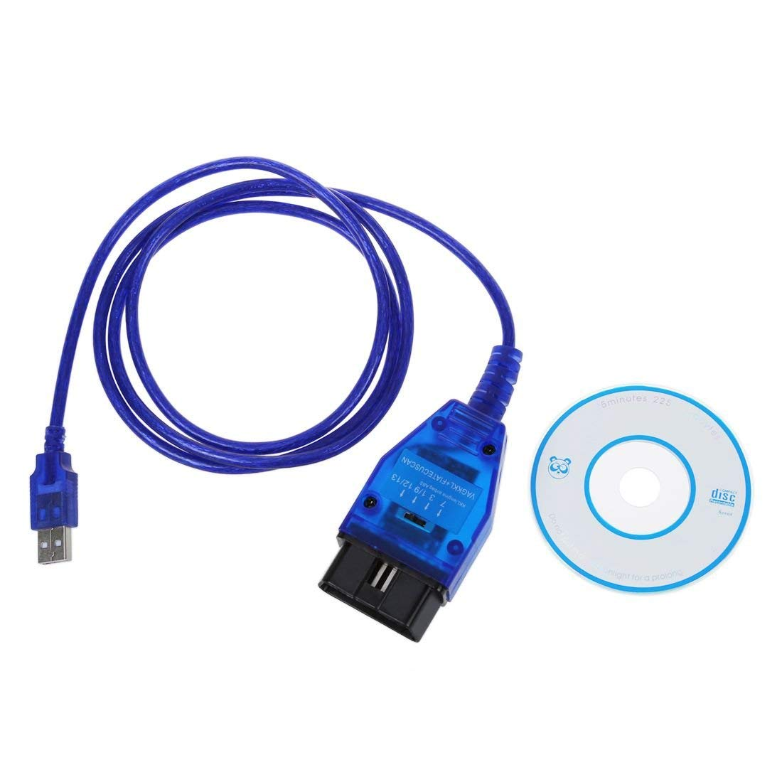 ULTRAOBD2 Fiatecuscan KKL 409.1 Interruptor MultiECUScan para Italia Veh/ículo