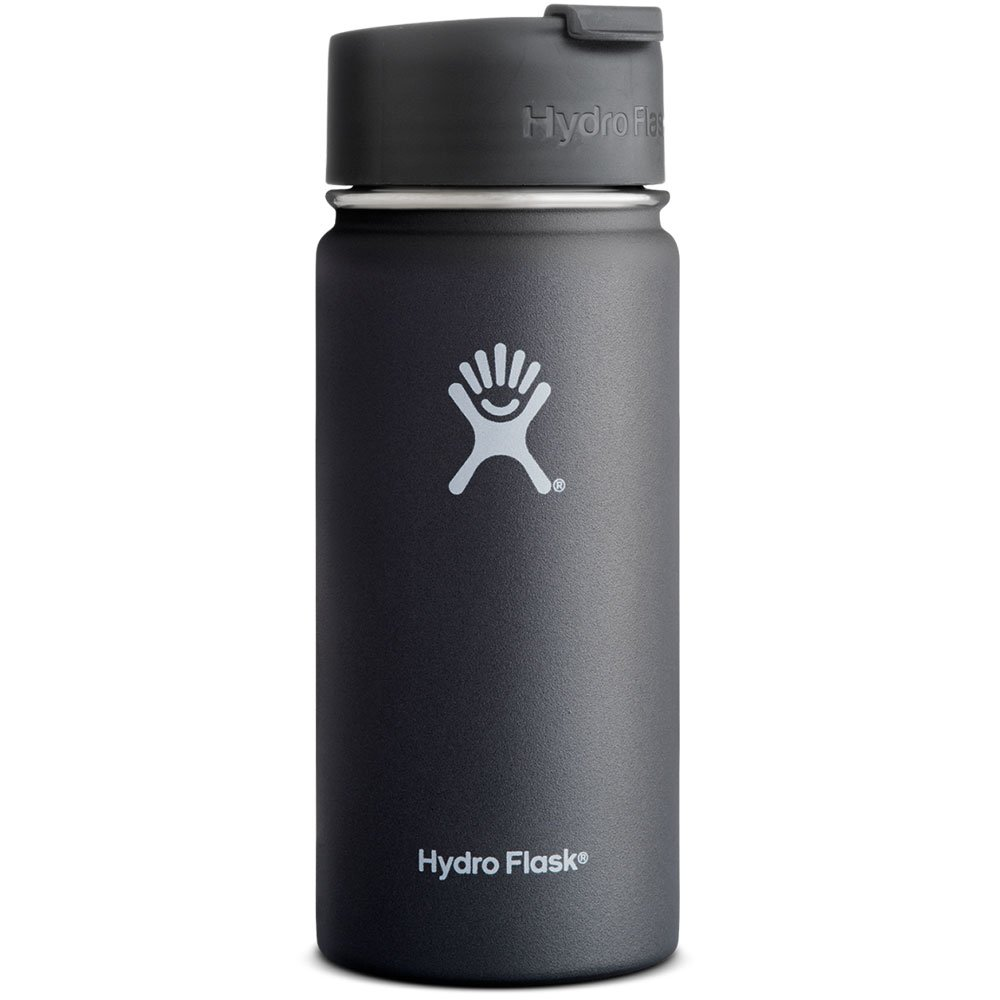 Hydroflask, Hydro Flask 16 Ounce Vacuum Insulated Stainless Steel Water Bottle, Black, 1 Each