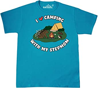 inktastic I Heart Camping with My Nephew with Hedgehog and Toddler T-Shirt