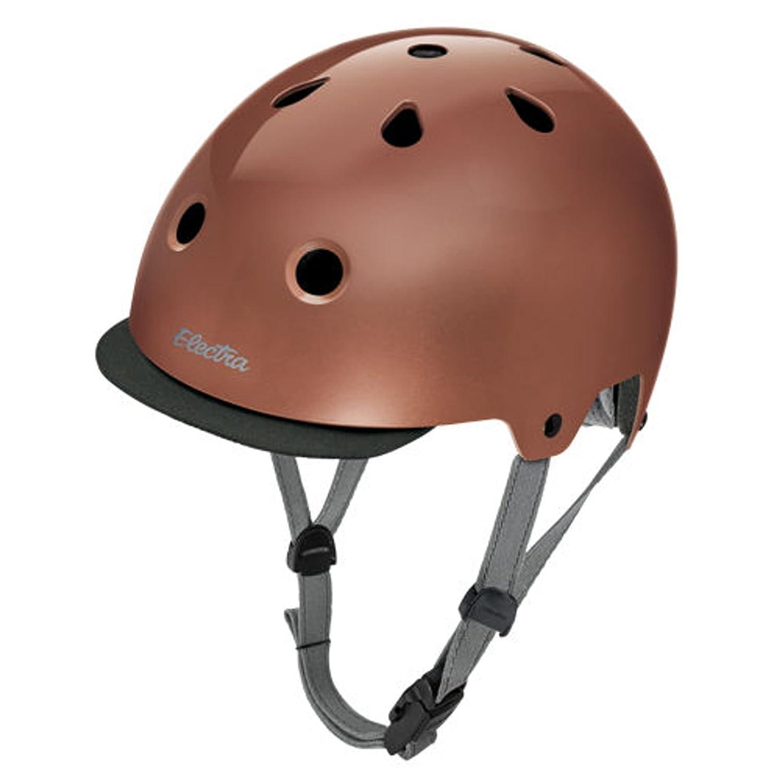 Electra Bike und Skate Helm 'Rose Gold' Solid Farbe Helmet, Kopfumfang 55-58 cm