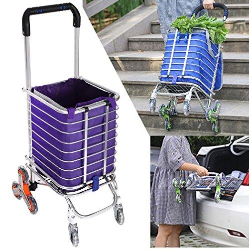 Cheesea Osb005110 Folding Shopping Cart Stair Climbing