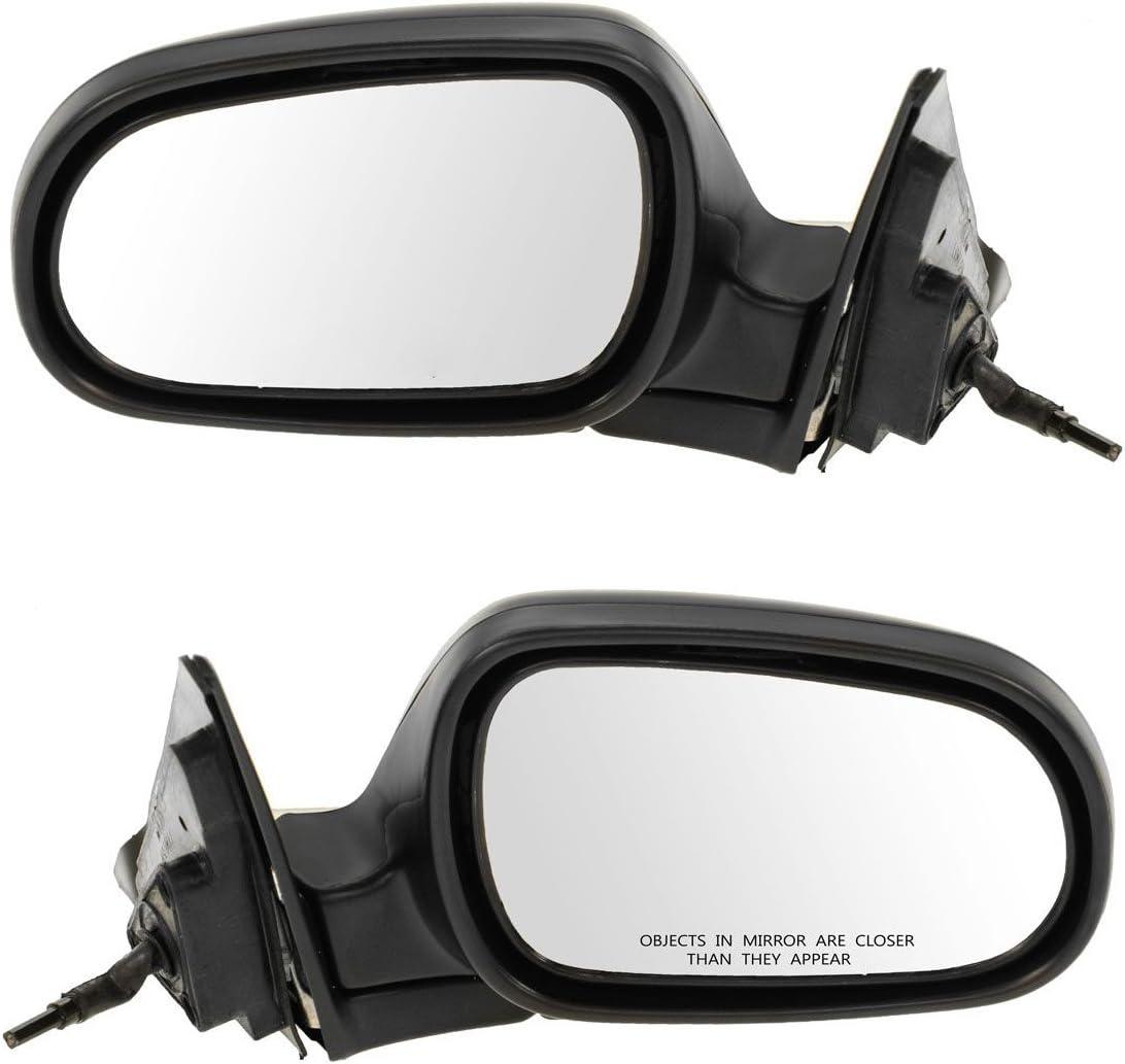 Manual Remote Mirror RH Right Passenger Side for 92-95 Honda Civic 4 Door Sedan