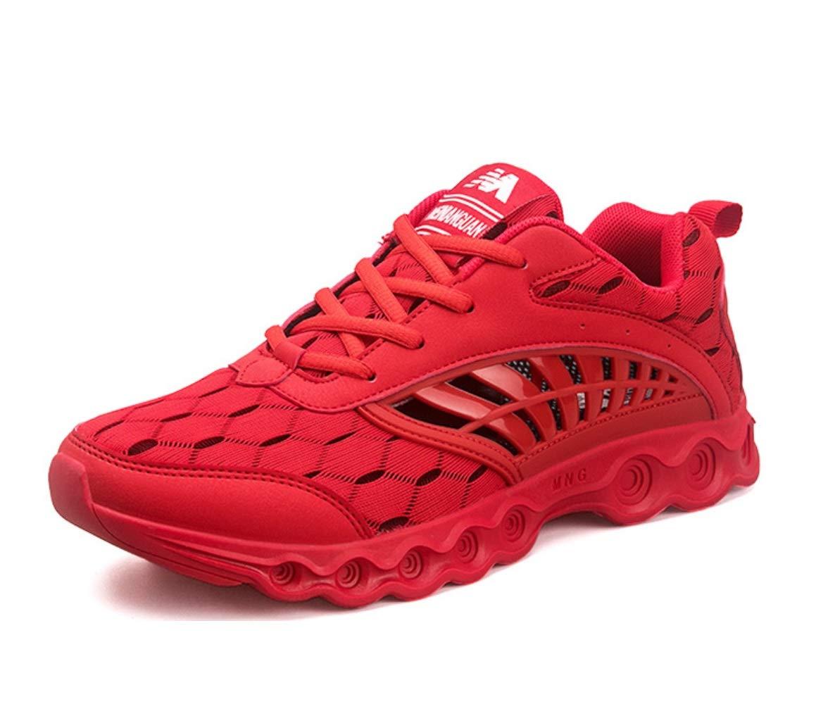 SHANGWU Hommes Chaussures De Sport D'été Chaussures De Fitness Respirant Maille Mesh Courir Skateboard Chaussures Chaussures Hommes Marathon Chaussures De Course