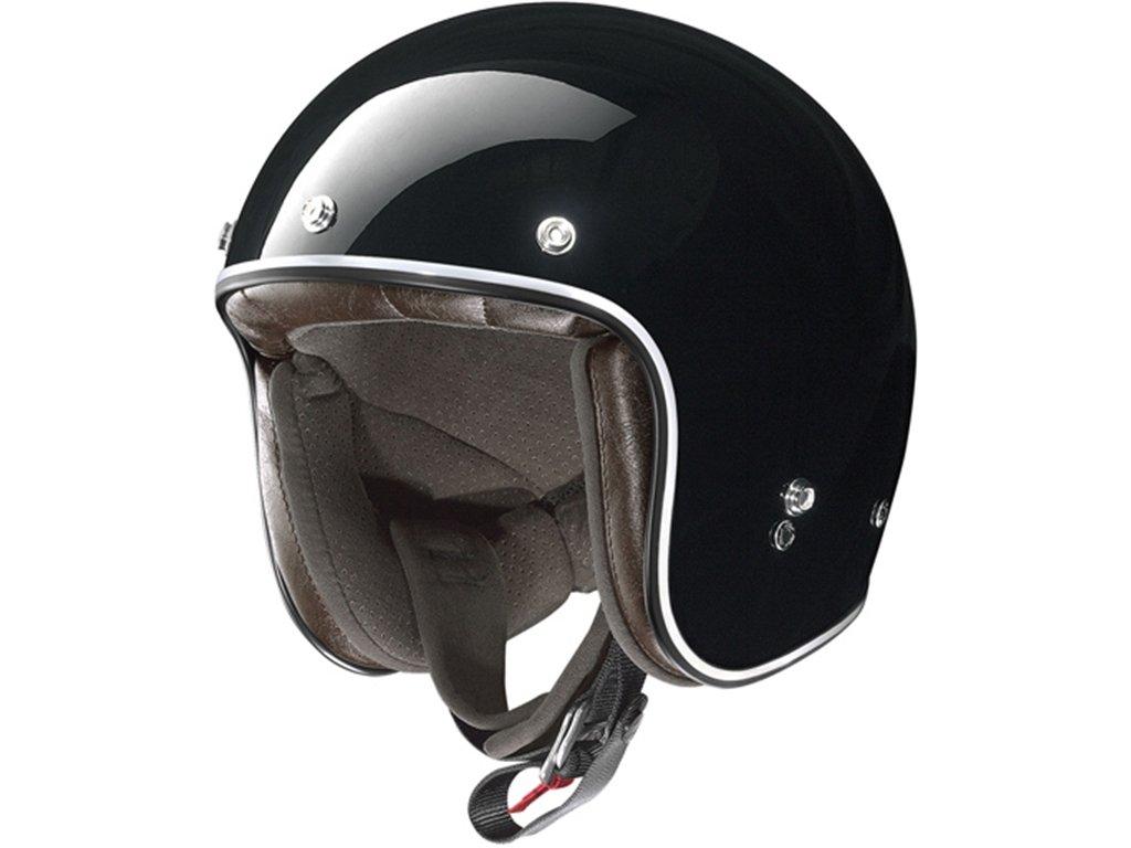X-lite X-201 FRESNO Jethelm Motorrad Verbundfaser n-com matt schwarz Gr/ö/ße L