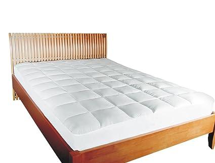 Mesana Premium Matratzen Schoner Größe 140x200 Cm Höhe 27cm Weiß Aus Soft Touch Microfaser 100 Polyester Matratzen Auflage Auch Für Ihr