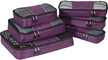 6-Piece eBags Classic Packing Cubes