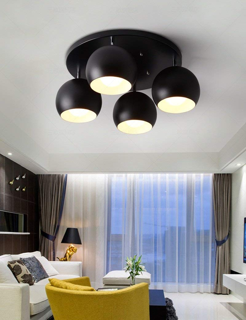 CWJ Simple Modern Lights - European Style Chandeliers Living Room Ceiling Lights The Shade of Ideas Acrylic Modern High Transmittance Bedrooms Study Ceiling Lamp Nursery Room Lamps Led Household Ligh