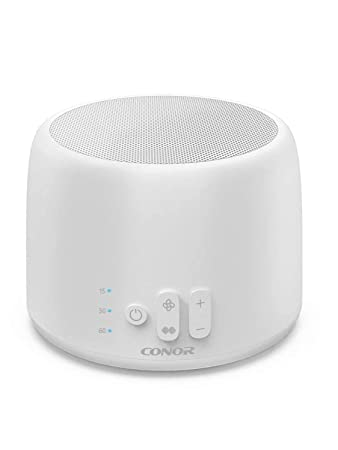 White Noise Machine, Conor High Fidelity Sound Machine for Sleeping, Baby,  Office Privacy - with 24 Unique
