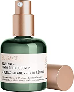 product image for Biossance Squalane + Phyto-Retinol Serum - Anti-Aging Bakuchiol Treatment for Fine Lines, Wrinkles + Sun Damage - No Parabens or Synthetic Fragrance - Vegan + Fragrance-Free (30ml)