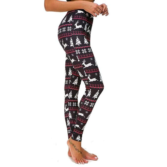 Impresos Leggings Yoga Mujer Pantalones Deportivos Mujer ...